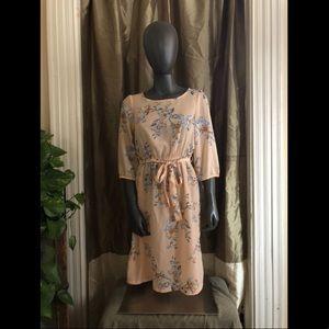 H&M Floral Shift Dress